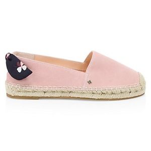 Kate Spade Grayson Pink Suede Espadrilles 9.5 NWT